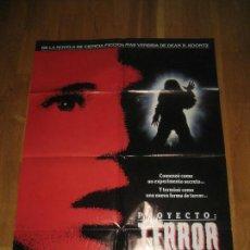 Cine: PROYECTO TERROR, JON HESS, BARBARA WILLIAMS, DEAN R.KOONTZ, MICHAEL IRONSIDE LALA. Lote 110353459