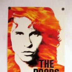 Cine: THE DOORS ORIGINAL FILM POSTER.!48X69 CMS.. Lote 110354295