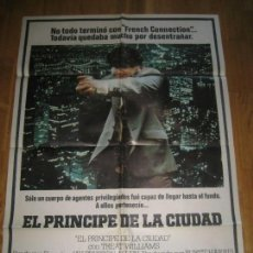 Cine: EL PRINCIPE DE LA CIUDAD, SIDNEY LUMET, TREAT WILLIAMS, ROBERT DALEY. Lote 110356599