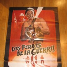 Cine: LOS PERROS DE LA GUERRA, THE DOGS OF WAR, JOHN IRVIN, CHRISTOPHER WALKEN, TOM BERENGER. Lote 110389295