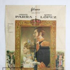 Cine: CARTEL / PÓSTER PELÍCULA - ¿DÓNDE VAS, TRISTE DE TI? / ALFONSO X - VICENTE PARRA - AÑO 1960. Lote 110429015