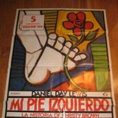 Cine: MI PIE IZQUIERDO, DANIEL DAY LEWIS, MY LEFT FOOD, JIM SHERIDAN, RAY MCANALLY, BRENDA FRICKER. Lote 110530847