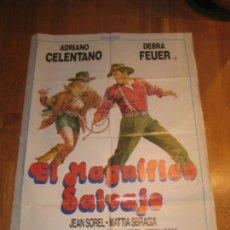 Cine: EL MAGNIFICO SALVAJE, CASTELLANO & PIPOLO, ADRIANO CALENTANO, DEBRA FEUER, JEAN SOREL. Lote 110531115