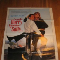 Cine: CUANDO HARRY ENCONTRÓ A SALLY, ROB REINER, BLLY CRYSTAL, MEG RYAN, WHEN HARRY MET SALLY. Lote 110531679