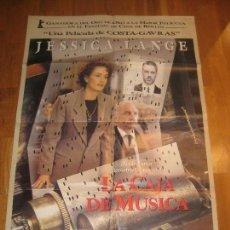 Cine: LA CAJA DE MÚSICA, MUSIC BOX,COSTA-GAVRAS, JESSICA LANGE, ARMIN MUELLER, FREDERIC FORREST. Lote 110532831