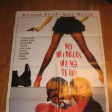 Cine: NO CHILLES QUE NO TE VEO, ARTHUR HILLER, SEE NO EVIL HEAR NO EVIL, RICHARD PRYOR, GENE WILDER. Lote 110533147