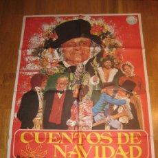 Cine: CUENTOS DE NAVIDAD, A CHRISTMAS CAROL, CHARLES DICKENS, CLIVE DONNER, GEORGE G SCOTT. Lote 272651948