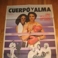 Cine: EN CUERPO Y ALMA, BODY AND SOUL, BOXEO, GEORGE BOWERS, LEON ISAAC KENNEDY, MOHAMED ALI. Lote 110533827