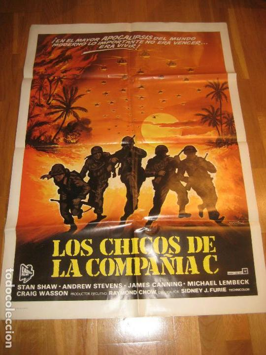 LOS CHICOS DE LA COMPAÑIA C, SIDNEY J. FURIE, STAN SHAW, ANDREW STEVENS, JAMES CANNING (Cine - Posters y Carteles - Bélicas)