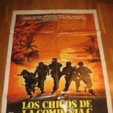 Cine: LOS CHICOS DE LA COMPAÑIA C, SIDNEY J. FURIE, STAN SHAW, ANDREW STEVENS, JAMES CANNING. Lote 110576703