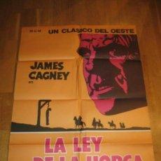 Cine: LA LEY DE LA HORCA, TRIBUTE TO A BAD MAN, JAMES CAGNEY, ROBERT WISE, IRENE PAPAS, DON DUBBINS. Lote 110580003