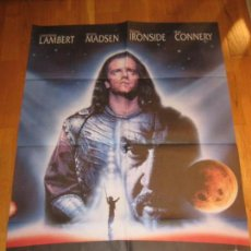 Cine: LOS INMORTALES II, HIGHLANDER 2, RUSSEL MULCAHY, CHRISTOPHER LAMBERT, SEAN CONNERY, VIRGINIA MADSEN. Lote 110583103