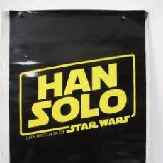 Cine: STAR WARS HON SOLO. Lote 110620799