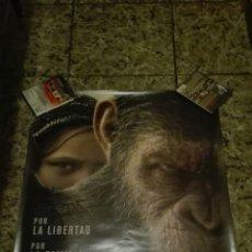 Cine: POSTER LA GUERRA DEL PLANETA DE LOS SIMIOS ORIGINAL 100X70. Lote 110660890