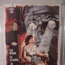 Cine: CARTEL CINE ORIG LA VENGANZA DEL DOCTOR MABUSE (1972) 70X100 / JESÚS FRANCO. Lote 110739459