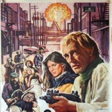 Cine: EL PLANETA DE LOS BUITRES. RICHARD HARRIS-ERNEST BORGNINE. CARTEL ORIGINAL 1980 70X100. Lote 110768175