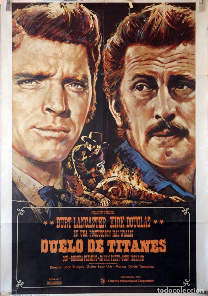 Duelo De Titanes Burt Lancaster Kirk Douglas Comprar