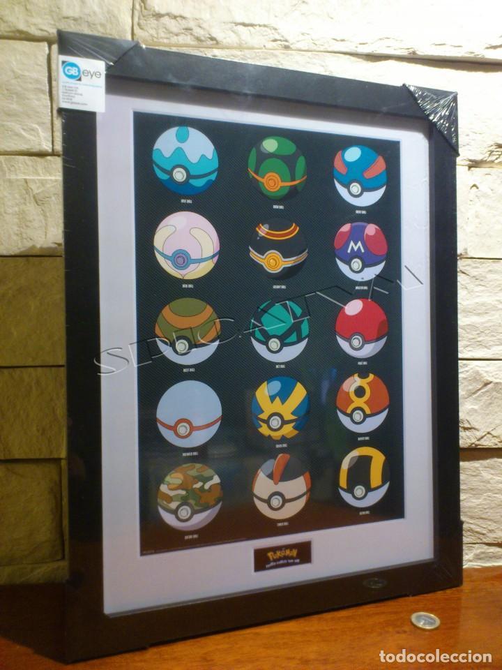 pokemon - poster - enmarcado - pokeball - crist - Comprar Carteles y ...