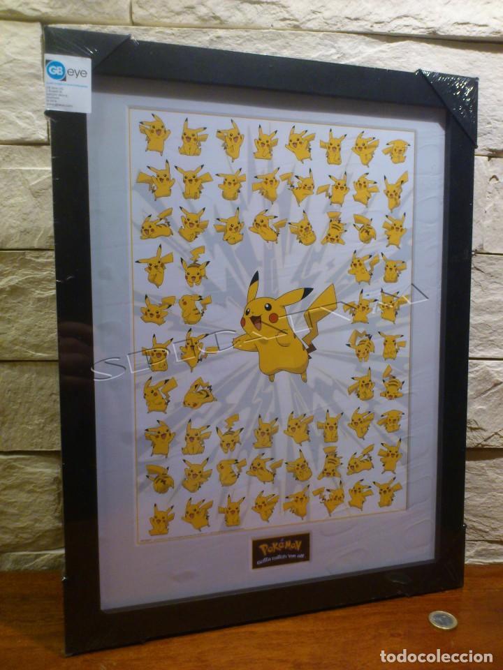 pokemon - poster - enmarcado - pikachu - crista - Comprar Carteles y ...