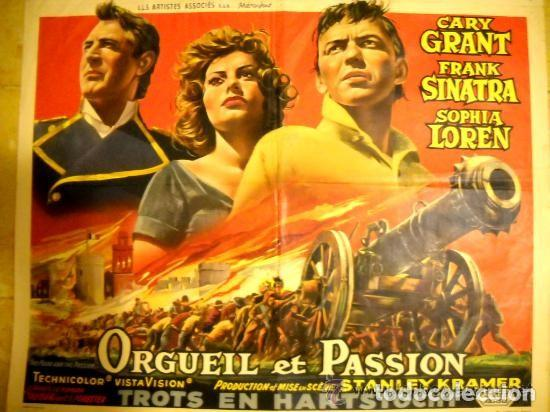 ORGULLO Y PASIÓN - ORGUEIL ET PASSION - UNITED ARTIST (Cine - Posters y Carteles - Aventura)