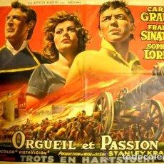 Cine: ORGULLO Y PASIÓN - ORGUEIL ET PASSION - UNITED ARTIST. Lote 111062351