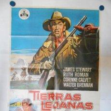 Cine: TIERRAS LEJANAS - SOLIGO - CARTEL ORIGINAL 70 X 100. Lote 111163751