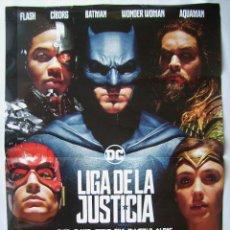 LIGA DE LA JUSTICIA, con Ben Affleck. POSTER 68 X 98 cms. 2017.