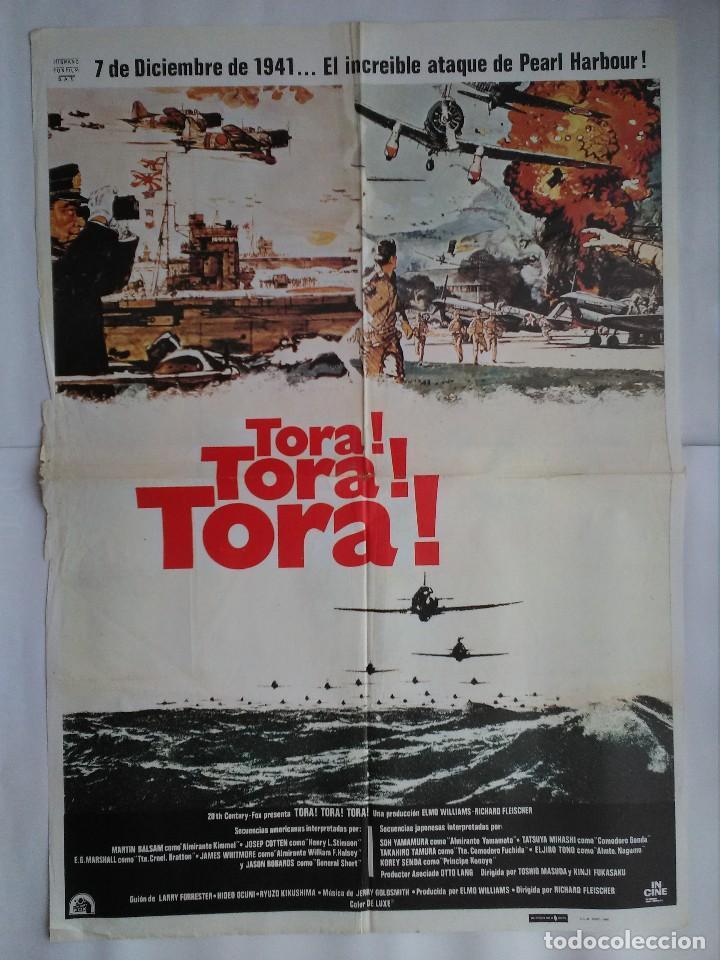 CARTEL CINE, TORA ! TORA ! TORA ! MARTIN BALSAM, SOH YAMAMURA - AÑO 1980 , C255 (Cine - Posters y Carteles - Bélicas)