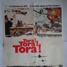 Cinéma: CARTEL CINE, TORA ! TORA ! TORA ! MARTIN BALSAM, SOH YAMAMURA - AÑO 1980 , C255. Lote 111399723
