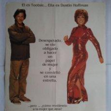 Cine: CARTEL CINE, TOOTSIE - DUSTIN HOFFMAN, JESSICA LANGE - AÑO 1983, C267. Lote 111471899