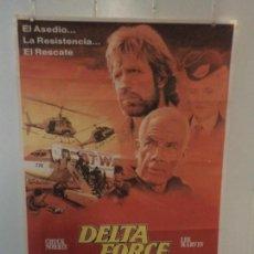 Cinema: DELTA FORCE - CHUCK NORRIS - LEE MARVIN - DIRECTOR MENAHEM GOLAN. Lote 111616759