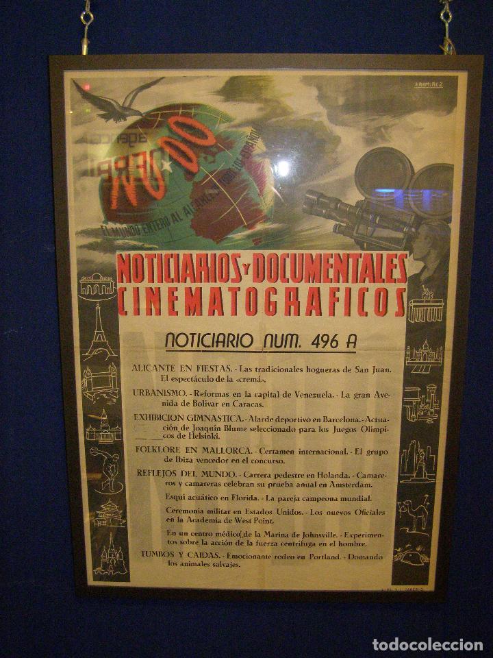 CARTEL NODO 1950. ENMARCADO (Cine - Posters y Carteles - Documentales)