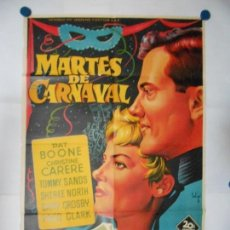 Cine: MARTES DE CARNAVAL - SOLIGO - CARTEL ORIGINAL LITOGRAFICO - 70 X 100. Lote 111664103