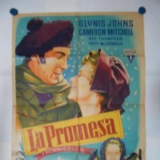 Cine: LA PROMESA - SOLIGO - CARTEL ORIGINAL LITOGRAFICO - 70 X 100. Lote 111664375