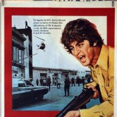 Cine: TARDE DE PERROS. AL PACINO. CARTEL ORIGINAL 1977. 70X100. Lote 112005299