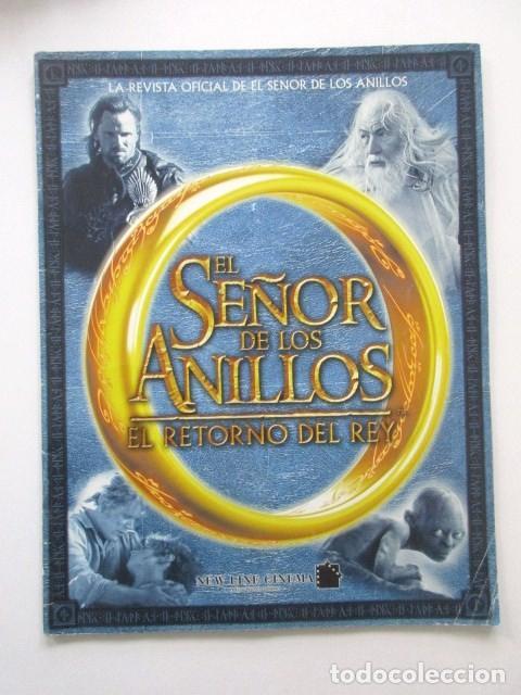 24 POSTERS, REVISTA OFICIAL EL SEÑOR DE LOS ANILLOS, EL RETORNO DEL REY (Cine - Posters y Carteles - Ciencia Ficción)