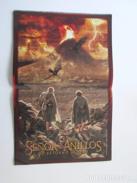 Cine: 24 POSTERS, REVISTA OFICIAL EL SEÑOR DE LOS ANILLOS, EL RETORNO DEL REY - Foto 2 - 112205311