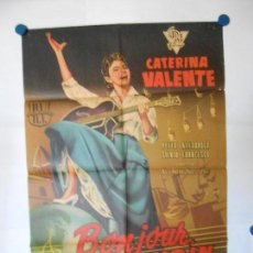 Cine: BONJOUR KATHRIN - CARTEL LITOGRAFICO ORIGINAL - 70 X 100. Lote 112206523