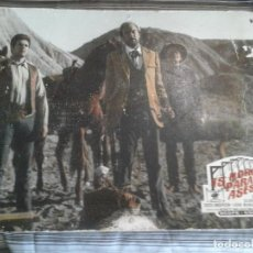 Cine: 15 HORCAS PARA UN ASESINO, TABLÓN PÓSTER AÑOS 70, PELÍCULA ITALIA WESTERN SCOPE-COLOR, 60X40 CMS. Lote 112393731