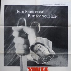 Cine: YOU´LL LIKE MY MOTHER MOVIE POSTER, ORIGINAL, 1972. Lote 112739311