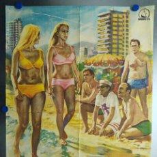 Cine: VERANO 70. JUANJO MENENDEZ, DIANA LORYS, JESUS PUENTE, JOSE SAZATORNIL, MONICA RANDAL. AÑO 1970. Lote 112873235