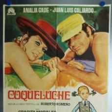 Cine: COQUELUCHE. ANALIA GADE, JUAN LUIS GALLARDO. AÑO 1970. Lote 112895675
