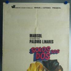 Cine: SOLOS LOS DOS. MARISOL, SEBASTIAN PALOMO LINARES. AÑO 1970. Lote 112897991