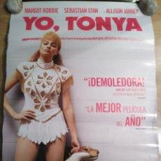 Cine: YO, TONYA - APROX 70X100 CARTEL ORIGINAL CINE (L55). Lote 113123447
