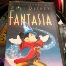 Cine: VHS - FANTASÍA - LA OBRA MAESTRA DE WALT DISNEY . Lote 113164583