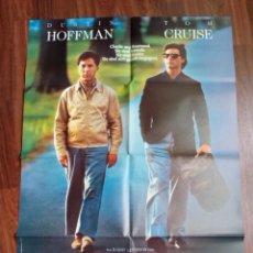 Cine: 1988 - RAIN MAN - DUSTIN HOFFMAN - TOM CRUISE -POSTER CARTEL CINE PELICULA ORIGINAL-GRANDE 84X60 CM. Lote 113202647