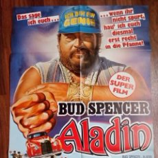 Cine: 1986- ALADINO-SUPERFANTAGENIO-POSTER CARTEL CINE PELICULA ORIGINAL-BUD SPENCER-GRANDE 84X60 CM. Lote 113211911