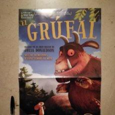 Cine: CARTEL ORIGINAL -A3- EL GRÚFALO - ANIMACION - JULIA DONALDSON - DIBUJOS ANIMADOS. Lote 113216575