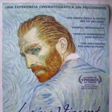 Cinema: LOVING VINCENT, DE DOROTA KOBIELA. POSTER 68 X 98 CMS.. Lote 113327719