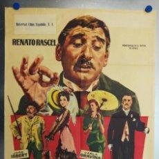 Cine: POLICARPO. RENATO RASCEL, JOSE ISBERT, TRINI MONTERO. AÑO 1959. Lote 113477707